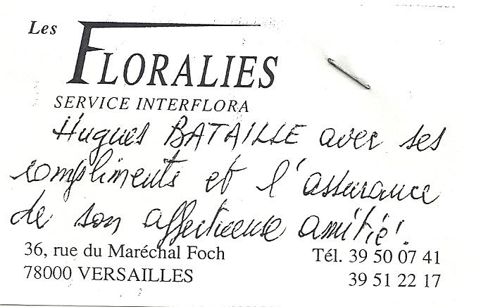 Concert Salle Gaveau 1996