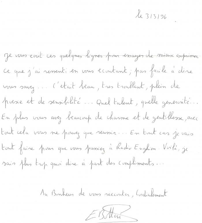 Salve Régina et Messe du couronnement 1996