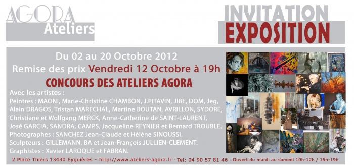 ateliers agora portrait de Charles Aznavour