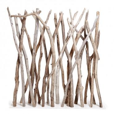 paravent en bois flotté pour séparation