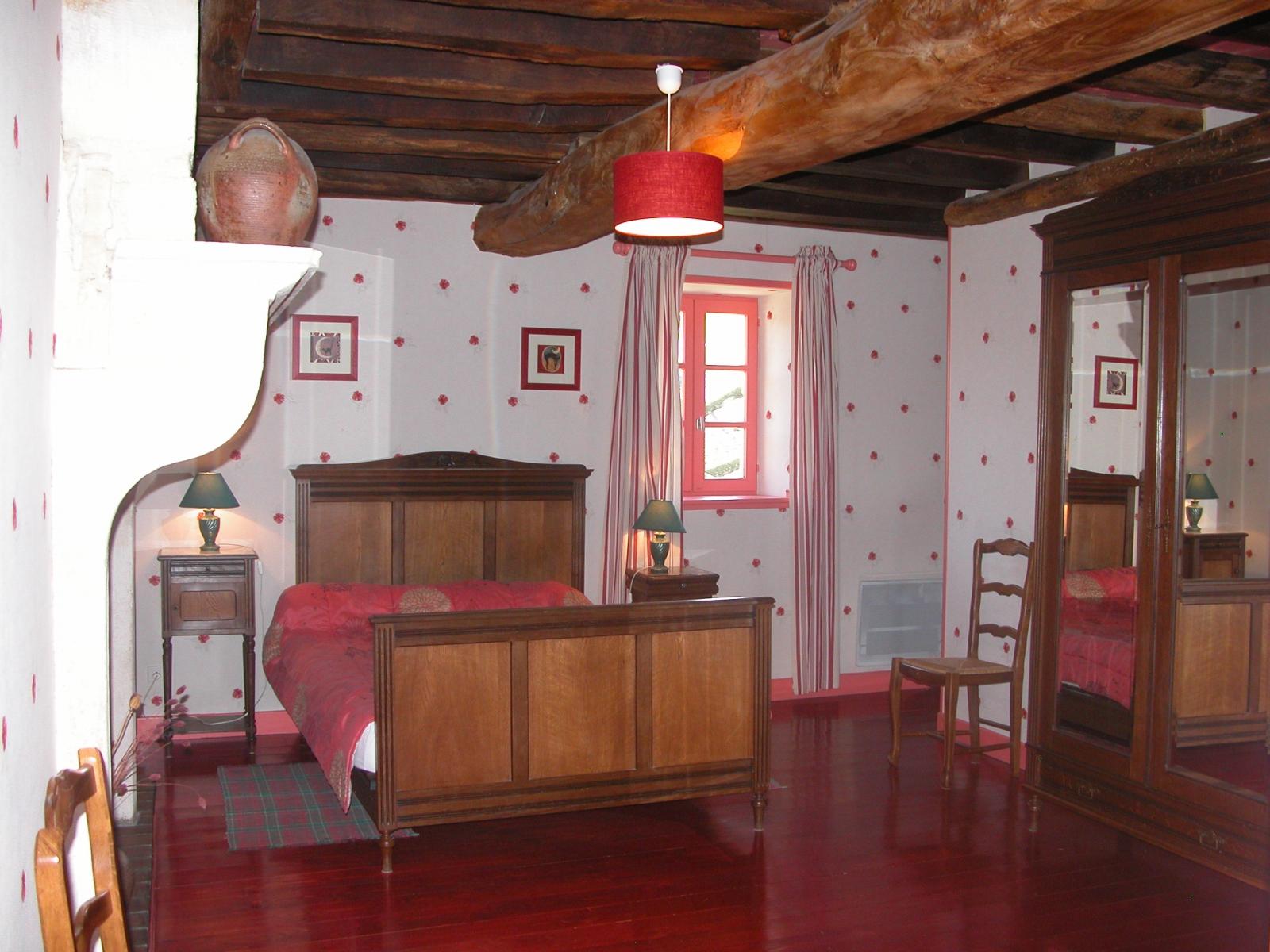 Chambre double gîte rural prés de chablis