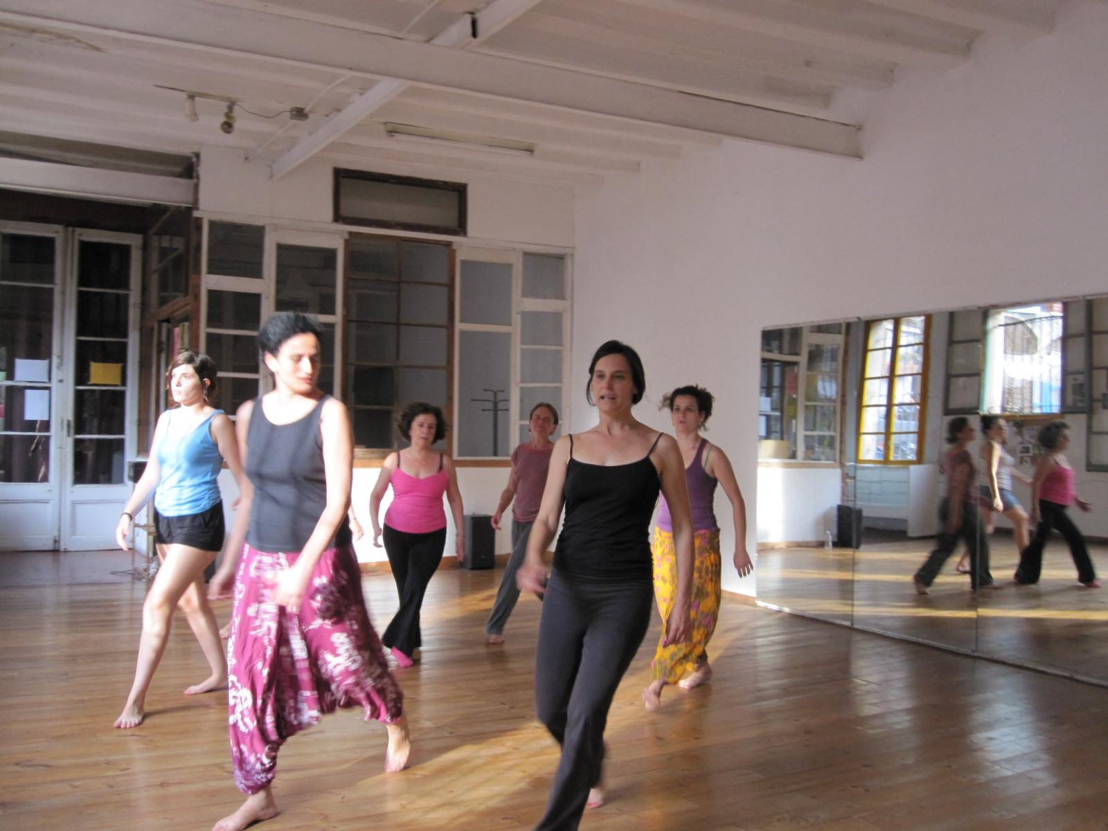 Atelier à Barcelone juillet 2012