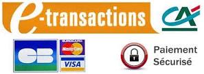 e-transactions est un service du Crédit Agricole